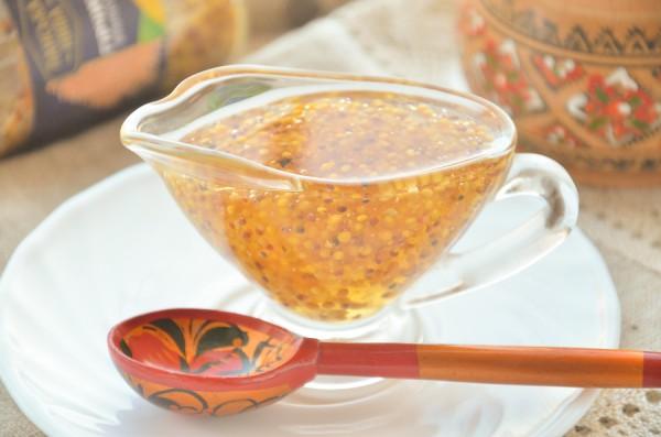Медово-горчичный соус