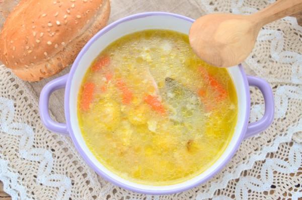 Суп с брюссельской капустой и курицей