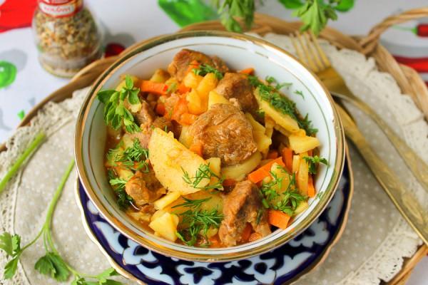 Рагу из баранины с картошкой