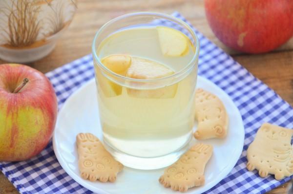 Яблочный чай с имбирем и медом