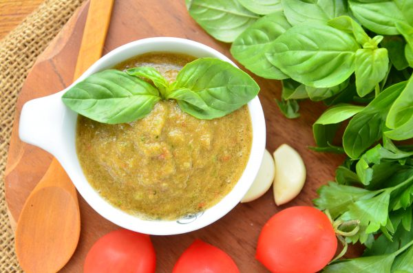 Овощной соус к мясу