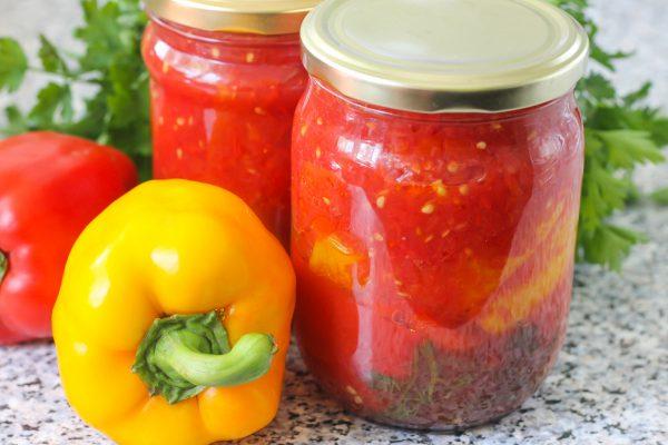 Паприкаш в томатном соке