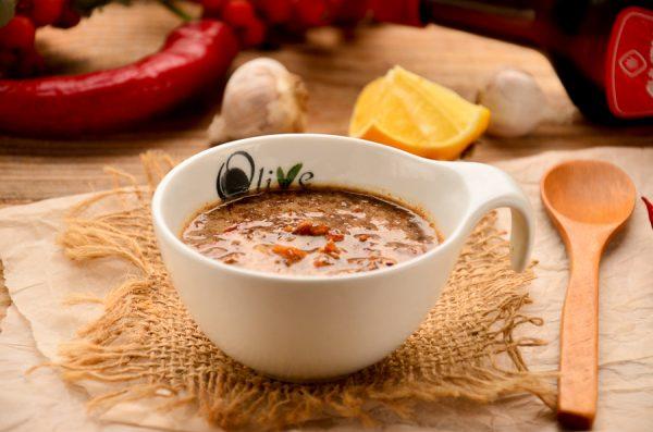 Соус с маринованным имбирем и соевым соусом
