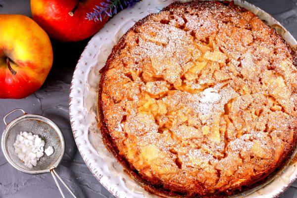 Быстрый яблочный пирог