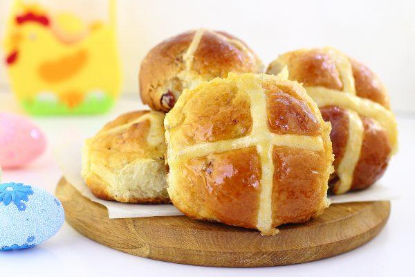 Крестовые булочки