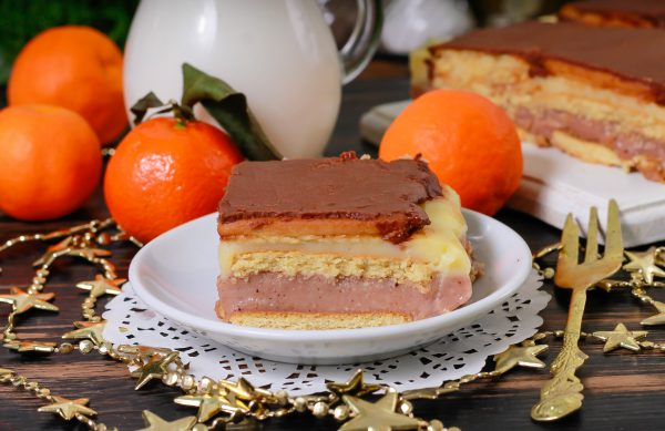 Торт Ленивый эклер