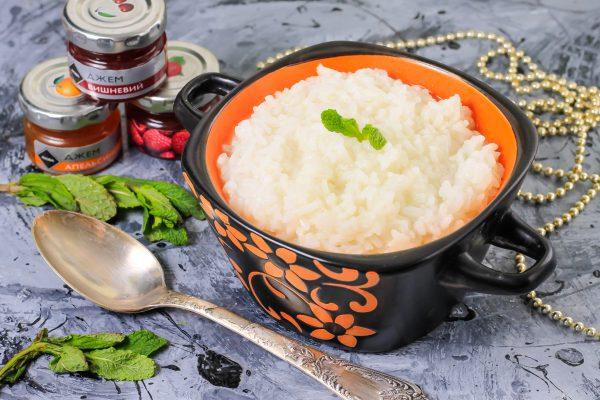 Рисовая каша на воде в мультиварке