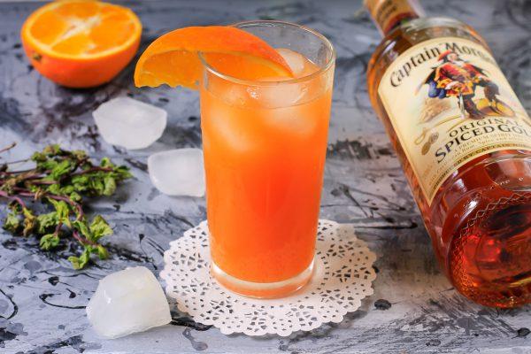 Ром с апельсиновым соком