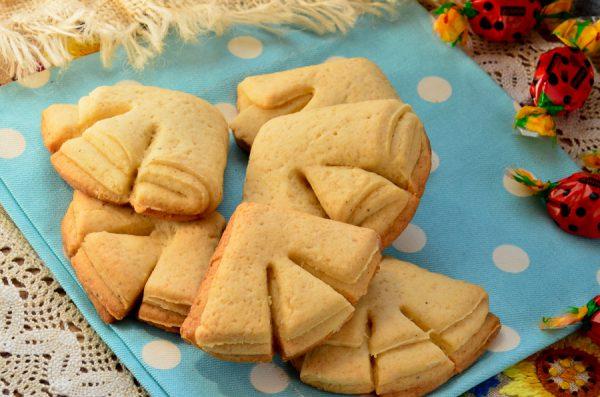 Песочное печенье Гусиные лапки