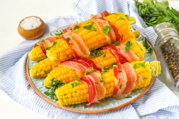 Кукуруза в беконе
