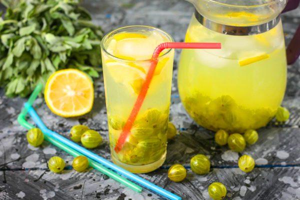 Лимонад из крыжовника
