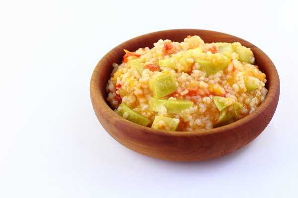 Кабачки с рисом