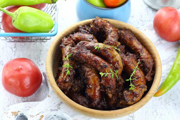 Куриные шейки в духовке