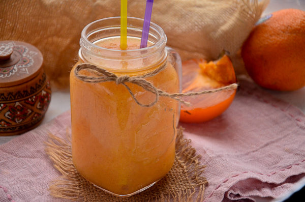 Смузи с хурмой и апельсином