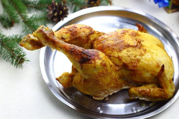 Курица в горчичном соусе в духовке